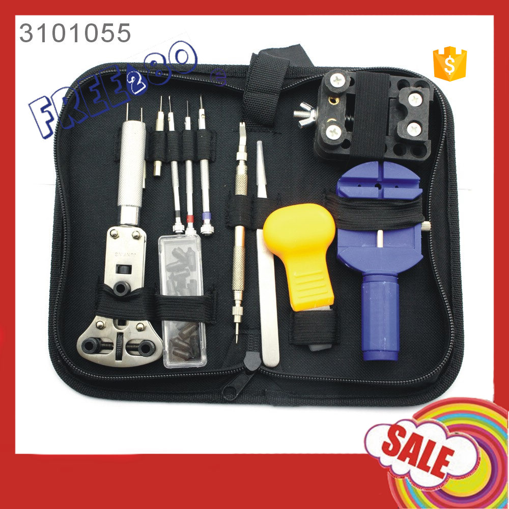 2016 Trade Assurance 13 in 1 Watch Repair Tool Kit With Detachable Strap Watch Tool Disassembly