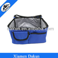Food storage bag with small front pocket lunch box bag