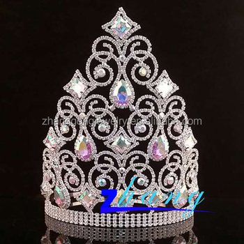 Beaty rhinestone pageant crown