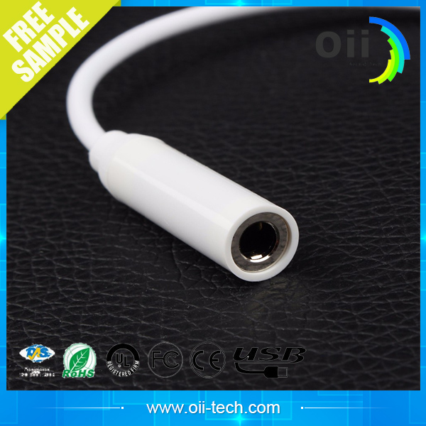 2016 New Design headset Charge Line For iPhone7 to 3.5 mm earphone Jack Audio Cable For iPhone 7 7plus Adapter Cable