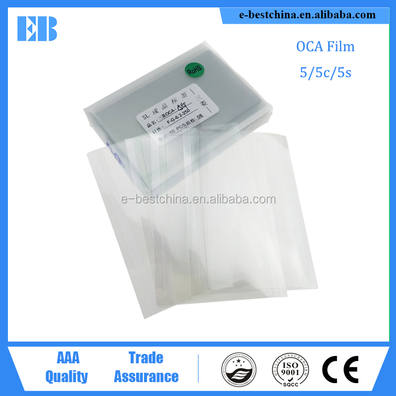 100% Mitsubishi Brand OCA Optical Clear Adhesive Glue Film for iphone 5 5c 5s 250um Broken lcd Refurbish