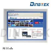 "DT-P170-P rugged touch screen 17"" touchscreen industrial panel pc price with I5 CPU RAM 2GB PCI extend port"