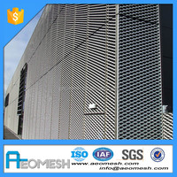 Durable-Aluminum Curtain Wall Expanded Metal Mesh
