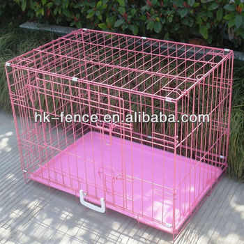 "36"" Majestic Pet Single Door Folding Coated Steel Wire Dog Crate Kennel"