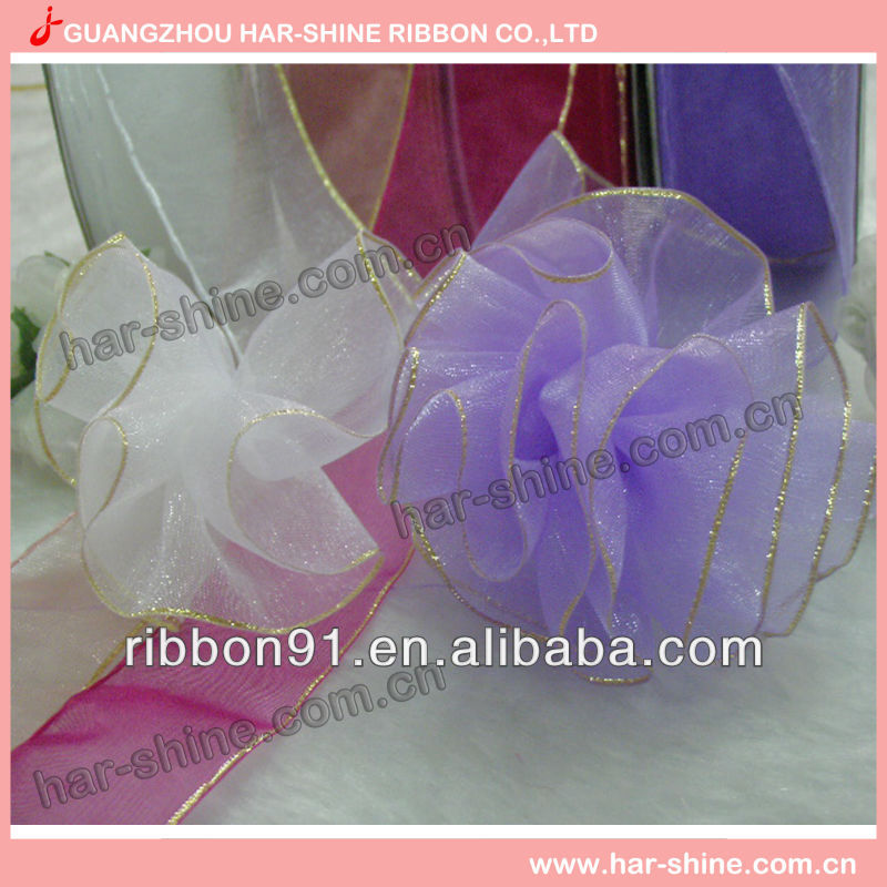Handmade silk ribbon flowers