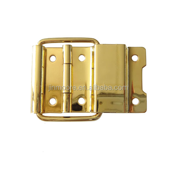 MBH02 High Quality Shinny Gold Metal Hinges For Wooden Jewelry Boxes