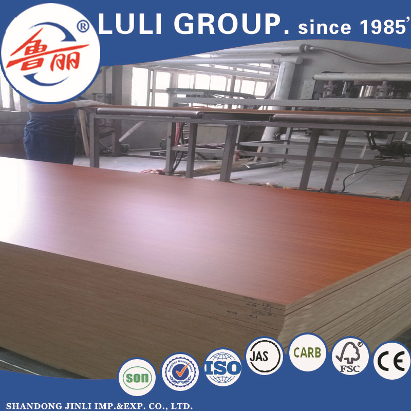 white melamine MDF with MDF factory price
