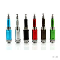 The Hottest Promotional ecig kit rebuildable atomizer K101 e smoke with push botton