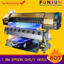 Funsunjet FS-1802G 1.8m dx5 head 1440dpi inkjet printers made in usa