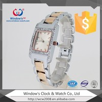 Cheap beautiful china gold plated alloy ladies fancy wrist watches