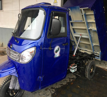 Self-Design Closed Cabin Garbage Tricycle Three Wheel Motorcycle Made In Chongqing (Model: CB200ZH-2R)