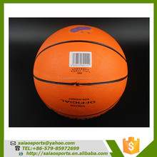 Gold supplier china balls basketball materials used basketball
