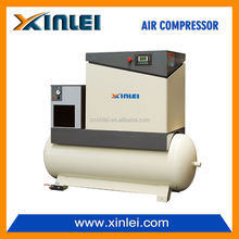 XLAM15ATD-S1 11KW 15HP electric air screw compressor for mining with air dryer and tank