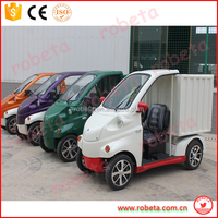 factory price mini electric van/ logistic vehicle car