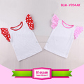 Adorable Summer Baby girl funny shirts Cap sleeve Cotton Baby Flutter Tank Tops