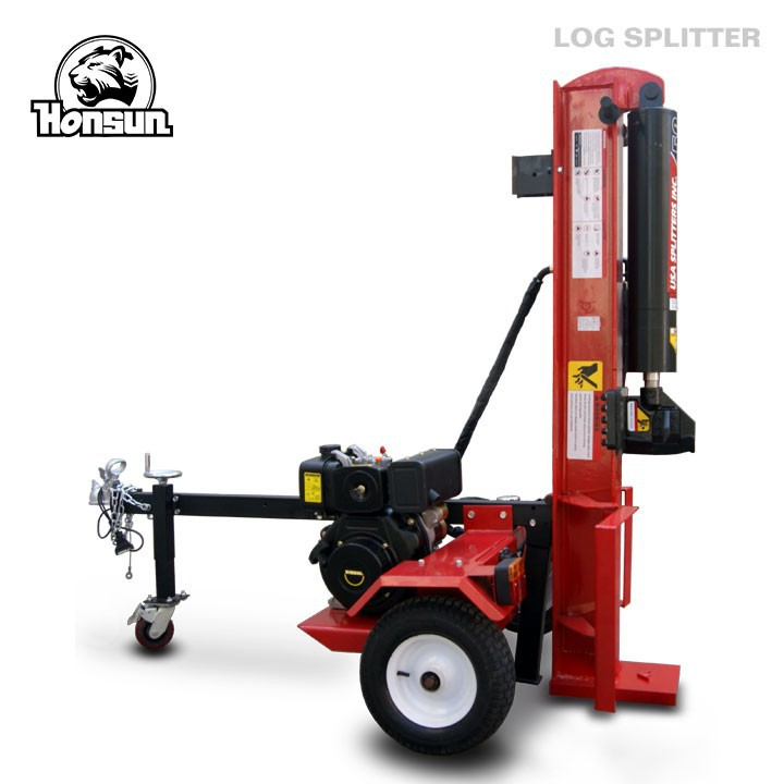 Widely used CE ISO BV certificate hydraulic automatic diesel engine log splitter 50T
