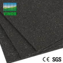 5mm Rubber Shock Damping Floor Mats Soundproof anti-vibration mat for gym