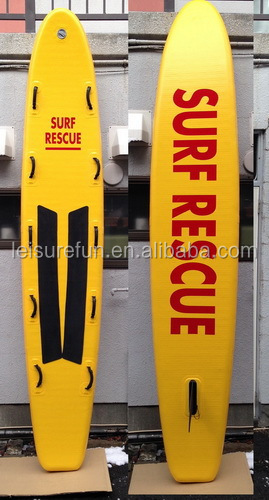 inflatable lifeguard rescue surfboard