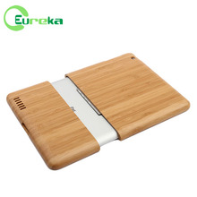 2014 Hot selling good workmanship blank wood case for IPad 2 3 4