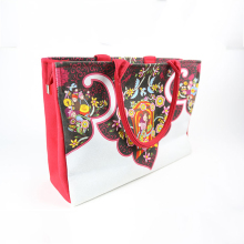 hand painted artistical womens purse handbag