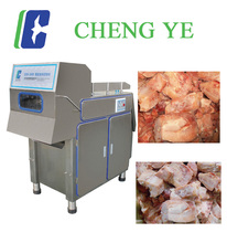380V Frozen Meat Slicer/Cutter CE Certification 2000kg/hr