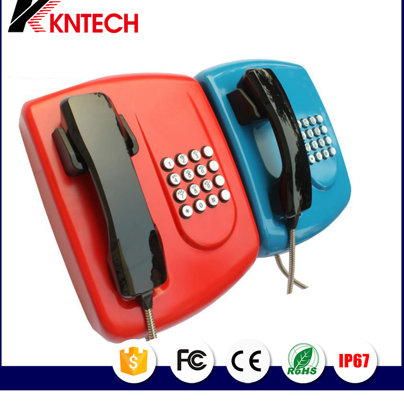 Weatherproof Telephone landline phone Corded Telephones commercial wall phone