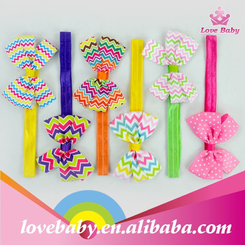 New Arrival Baby Girls Hairband Fashion Kids Hair Accessories Bow Headband