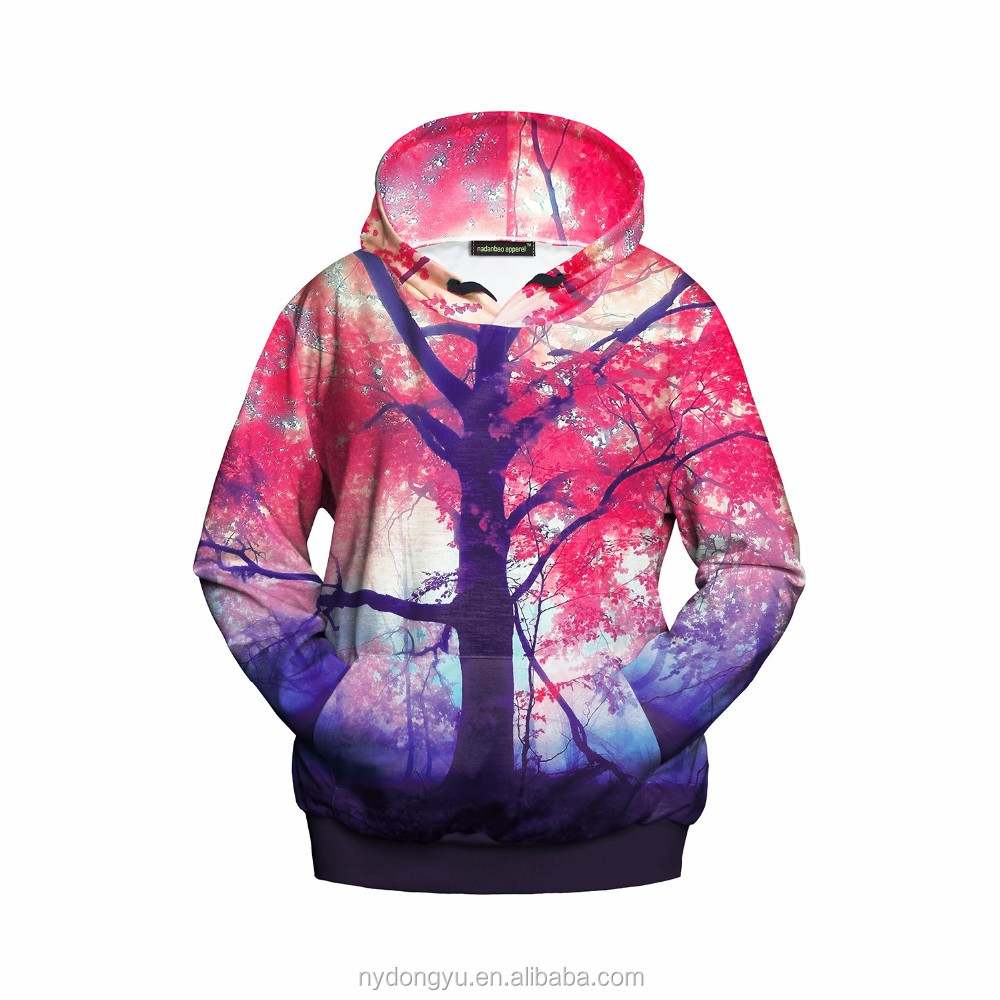 unisex tree printed sweat shirts/yj men and women tree hoodies/hot sell men and women hoodies