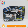 DD0601944 Gun with lights & sounds & vibration laser interaction gun toy