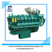 Googol Diesel Engine 50Hz 1550kW Water Cooled 4 Stroke Engine