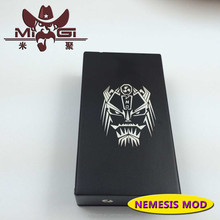 New coming mini box mod,latest model box mod nemesis mod with high quality