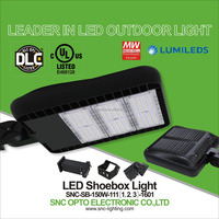 SNC LED Natural white color temperature 150w led parking lot lighting dlc listed luminaire street light