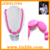 Novelty new design teething necklace baby teething beads silicone