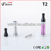 High quality T2 clearomizer : huge capacity and vapor mod .