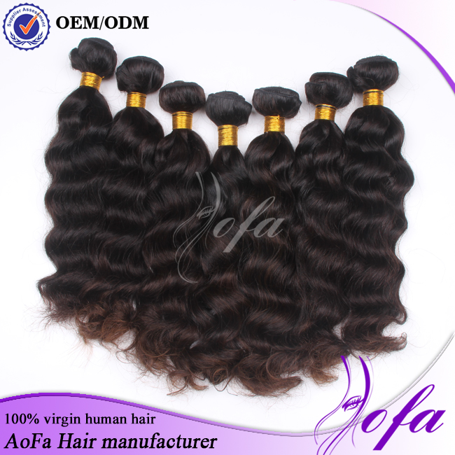 Natural color full cuticle virgin remy human hair,no tangle no shed unprocessed virgin body wave hair bundles