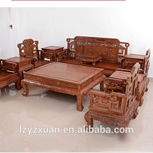 New design mahogany sofa set classic design indoor furniture with good price