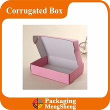 Printed packaging cardboard paper shopping wax corrugated box