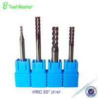 D4.0mm 75L High Performance Coating end mill cutters
