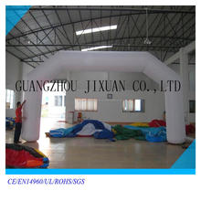 white inflatable finish line arch,advertising inflatable arch rental