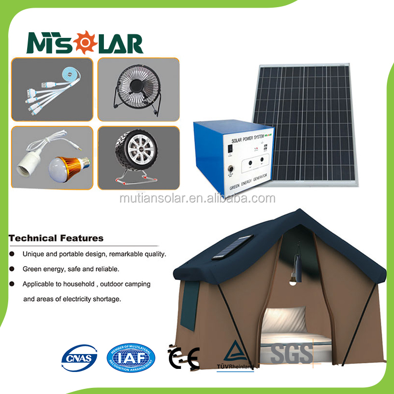 Off-Grid System 100W Remote Monitoring Solar Kit