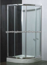 Safety tempered Shower Glass with high quality