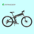 "2014 hot sale! 350W 36V 10AH 26"" Folding MTB Electric Bicycle with Internal Lithium Battery (DW801)"