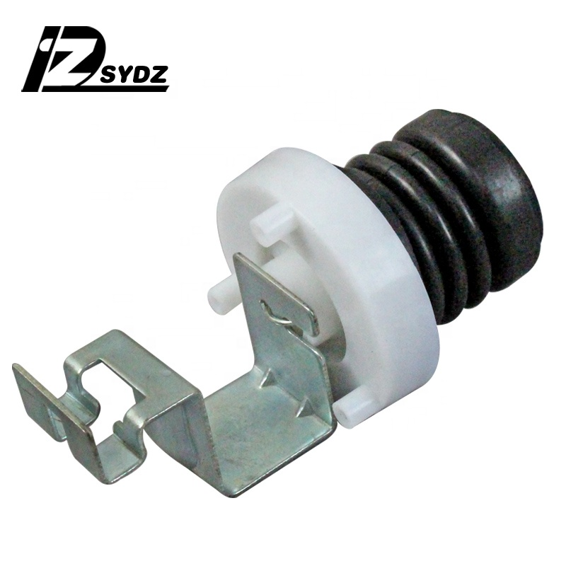 Automatic washing machine drainage valve core water plug drainage leather plug leather bowl spring washing machine spare parts