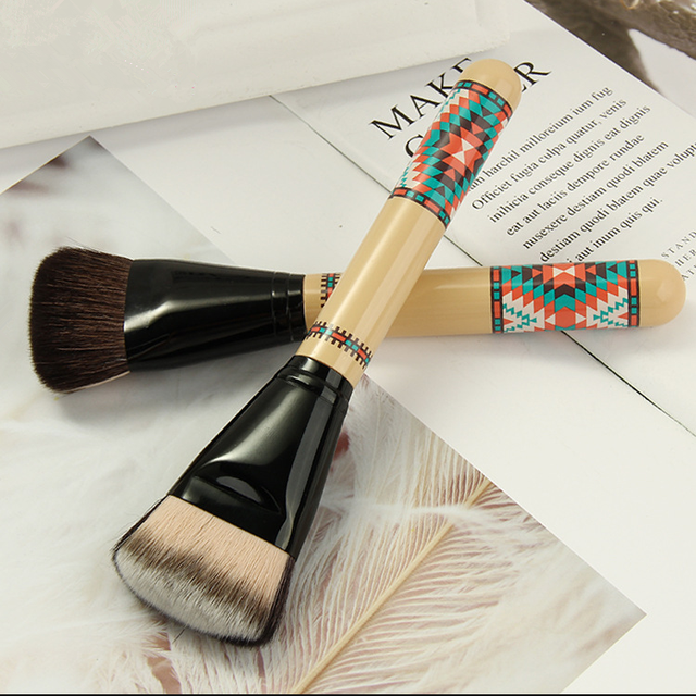 WENLE Professional Goat Hair Make-up Brushes Makeup Professional Double-Side Color Makeup Brushes