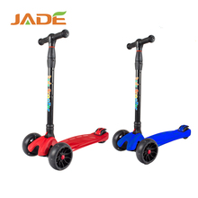 Wholesale mini cheap aluminium child foot scooter, 3 wheels balance kids scooter for adult