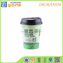 single wall custom printed cup for tea/coffee/hot drink