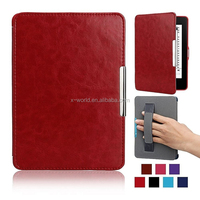 Hand claps tablet PDA leather case for kindle paper white