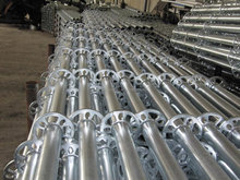 Hot dip galvanized kwikstage scaffold for building construction