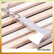 C5120 Manufacturers Selling Mini Simulation Axe Metal Tools Key chain Wholesale