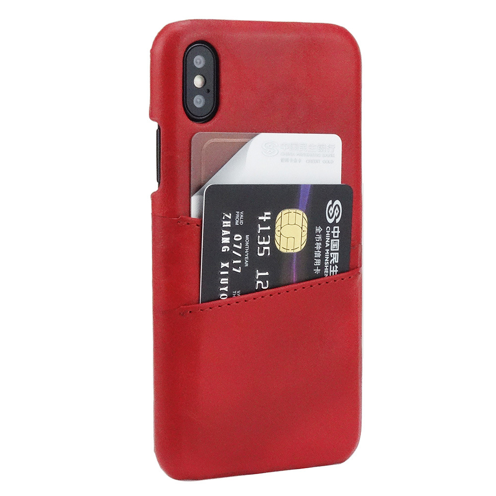 Hottest Mobile Accessories PU leather Cell Phone Case For iphone X Leather case Wallet Style
